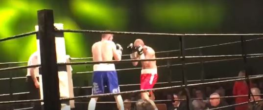 WATCH – Graham McCormack O'Shea improves pro record to 2-0