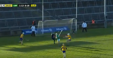 WATCH – Aaron Gillane's super goal from Limerick V Clare
