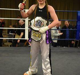 Limerick kickboxer Hayleigh Kiely wins IKF 5 Nations title