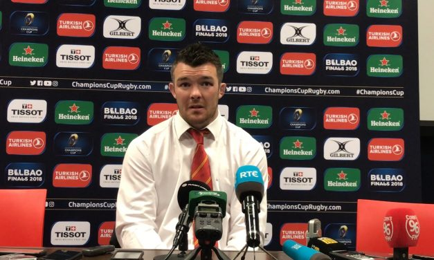 """WATCH: Peter O'Mahony """"One of the best performances I've ever seen from a Munster backline"""""""
