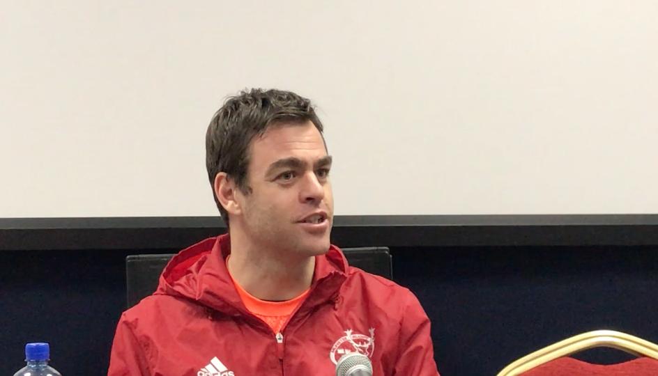 WATCH – Munster head coach Johann van Graan gives reaction to Cheetahs win