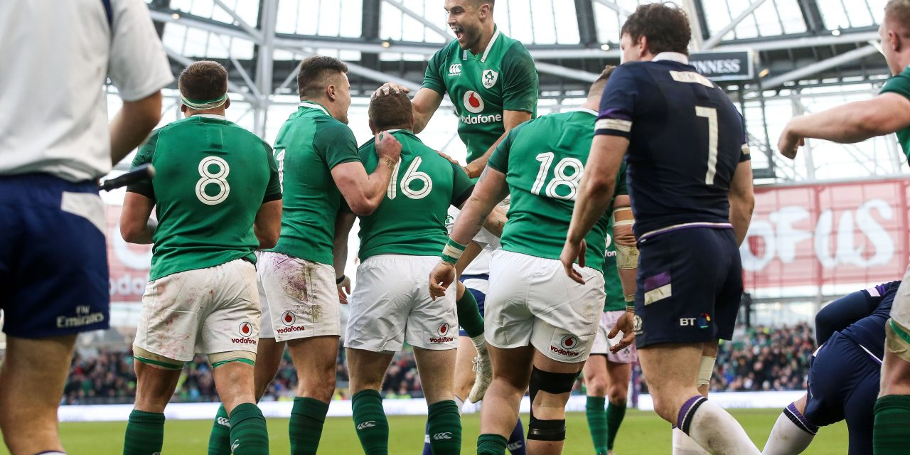 Clinical Ireland defeat Scots to get one hand on championship