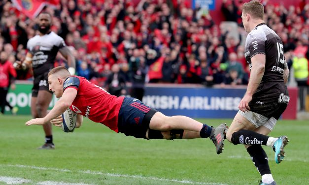 Andrew Conway's spectacular effort nominated for ECC Try of The Round