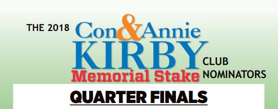 Quarter finals announced for the 2018 Con & Annie Kirby