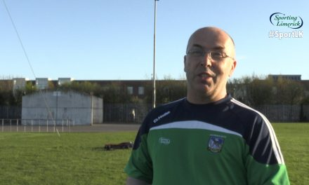 WATCH: Jim Moran chats to Sporting Limerick ahead of League semi final
