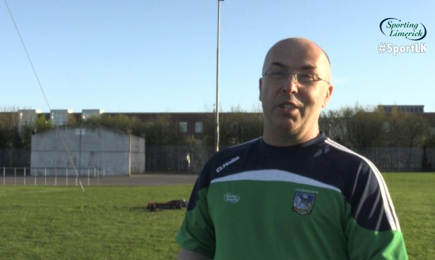 WATCH: Jim Moran chats to Sporting Limerick ahead of League semi final