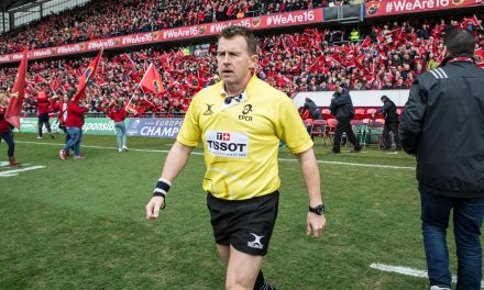 Nigel Owens to referee Munster's crucial quarter-final clash with Edinburgh
