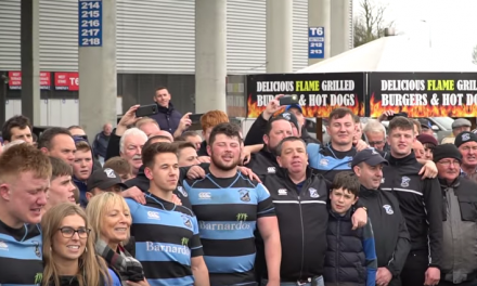 WATCH: Shannon RFC celebrate promotion to 1A