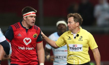 JP Doyle to referee Munster's Champions Cup Semi Final