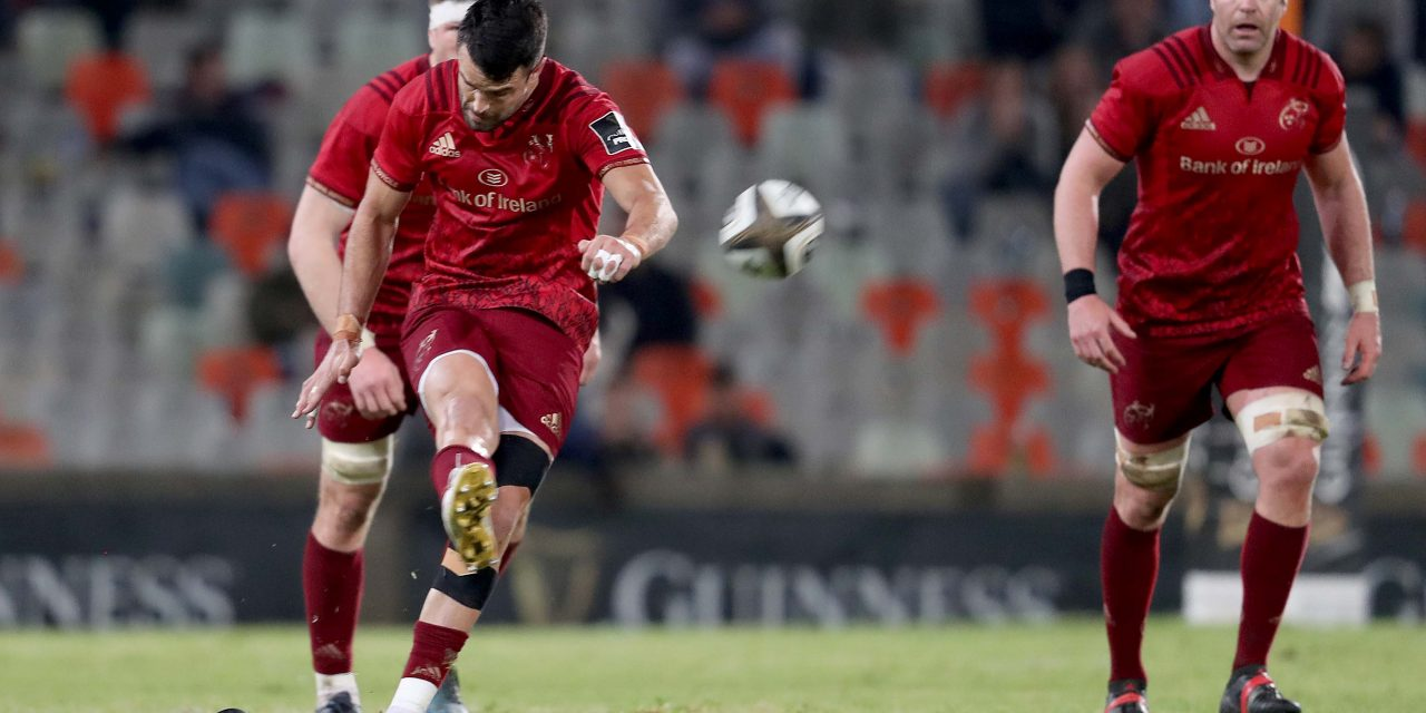 WATCH: Conor Murray kicks to Munster to victory over Cheetahs