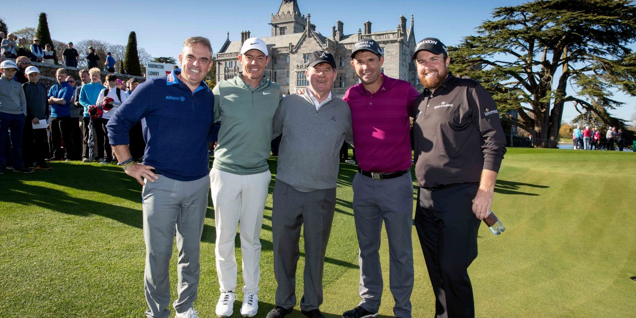 WATCH: Adare Manor gets glowing endorsement to host Ryder Cup