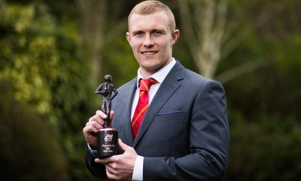 Keith Earls named Munster Rugby Player of the Year