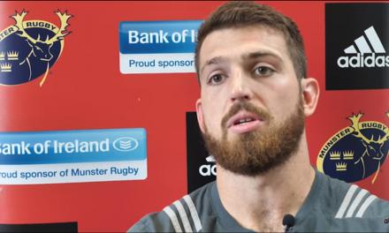 Watch – Munster lock Jean Kleyn looks ahead to Leinster game