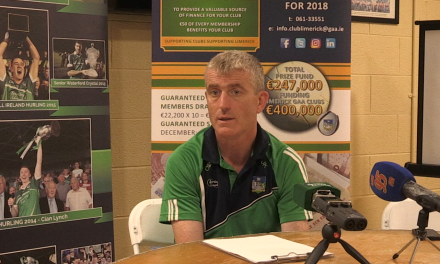 "WATCH: Kiely expecting stern test from ""flaking"" Cork side"