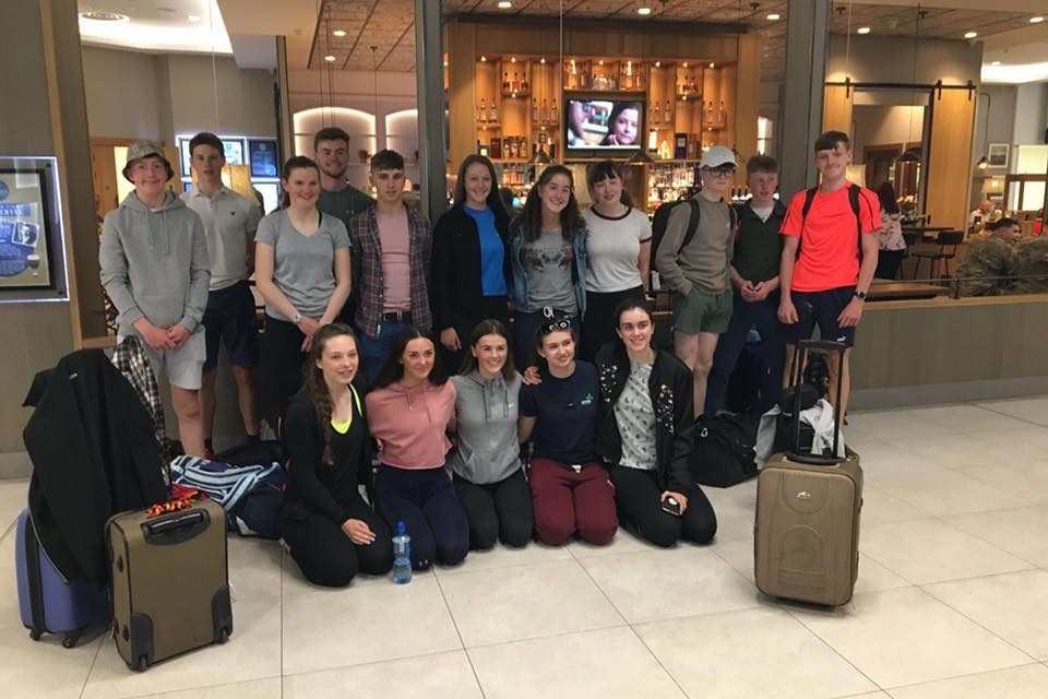 St Michael's rowing club head to England for National School's regatta this weekend.