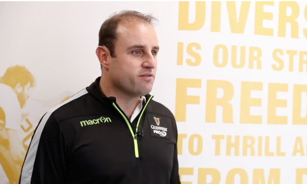WATCH: Pro14 referees gather in Dublin in preparation for final stages of the competition