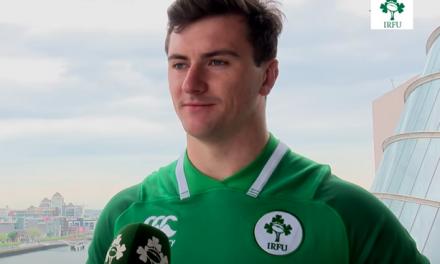 WATCH – Garryowen hooker Diarmuid Barron talks Junior World Cup