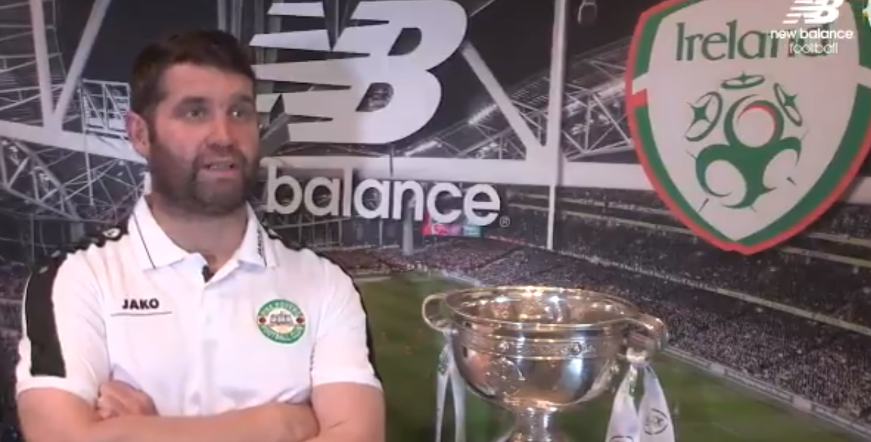 WATCH: Pike Rovers manager Mick Shiel optimistic ahead of FAI Junior Cup Final
