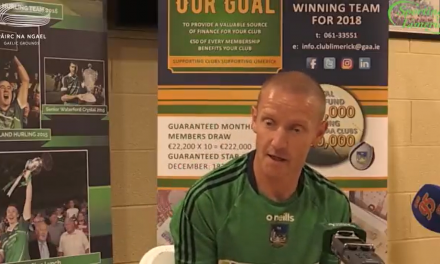 "WATCH: Darragh Droog hopeful that ""honest, hardworking"" Limerick minors can get result in Cork"