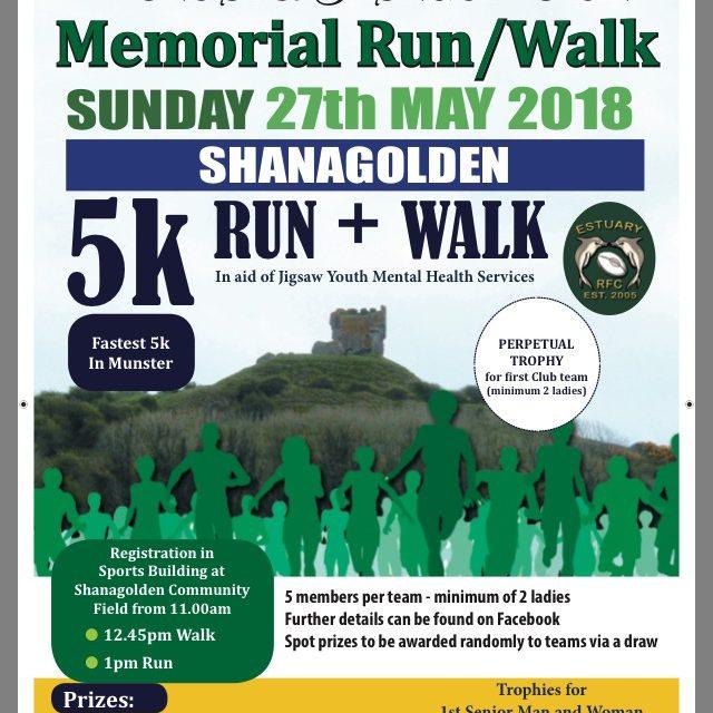 Michael and Brendan Nolan Memorial Run/Walk takes place this Sunday