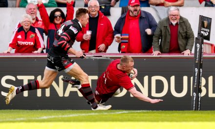 WATCH: Late Hanrahan kick edges Munster into Pro14 semi final with Leinster