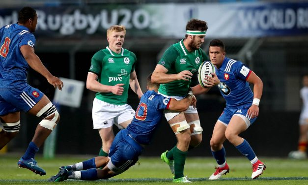 Irish U20s come up short against France in World Cup opener
