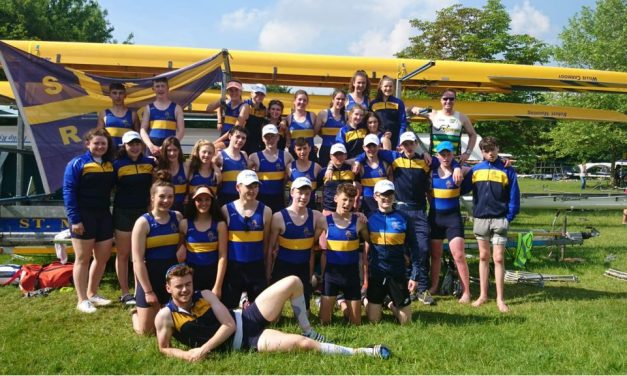 St Michaels Rowing club return home from National Schools Regatta