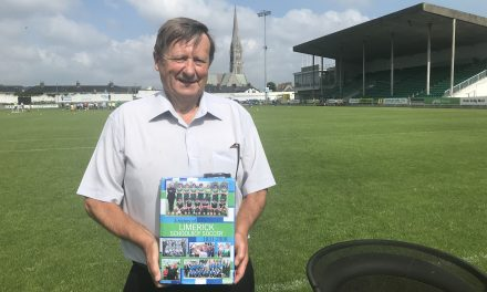 WATCH: Sean Curtin chats about a new book chronicling Limerick Schoolboy soccer from 1931-2000