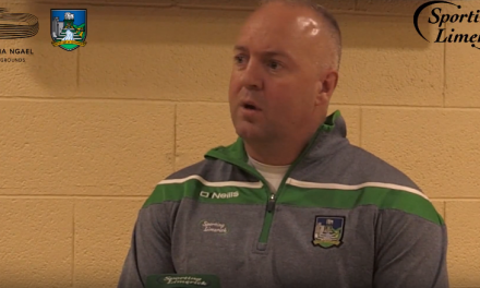 WATCH – Limerick U20 manager on the future of Limerick football
