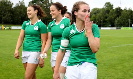 Shannon and UL Bohs club women in Ireland 7s action in Paris