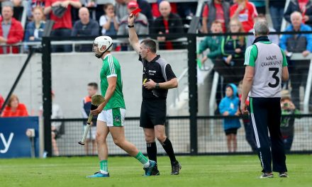 """WATCH: John Kiely on Gillane red card """"He will have learned from it"""""""
