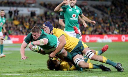 WATCH: Ireland level series and set up Sydney showdown