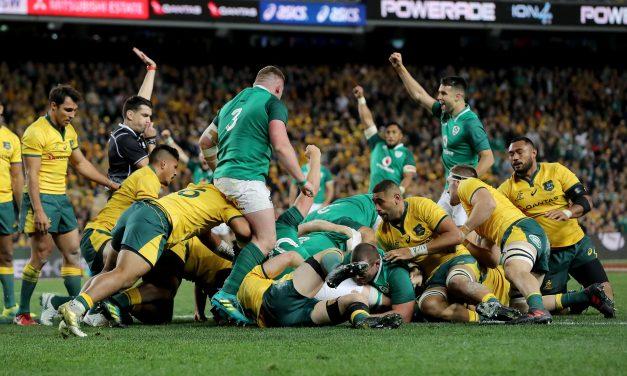 "WATCH: Mike Prendergast ""It's been a huge huge year"" on Ireland's 2018"