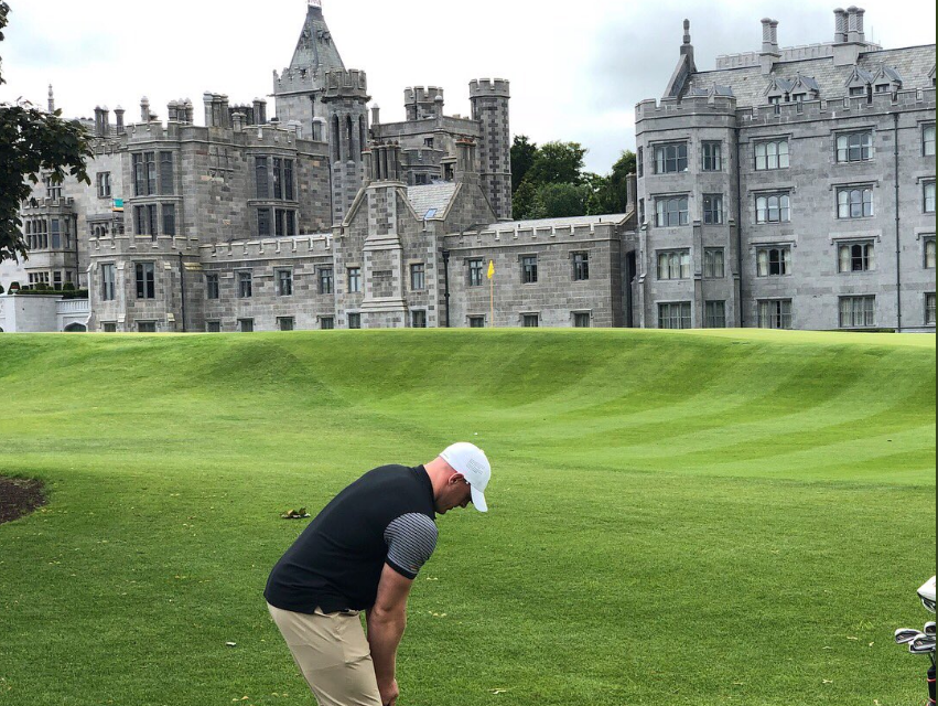 """""""Probably the nicest course I've ever played"""" – NFL Star J.J Watt on Adare Manor"""