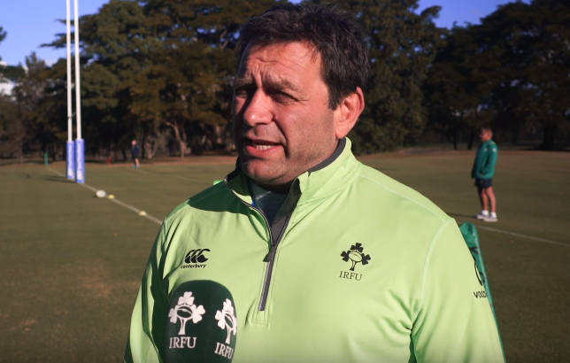 WATCH – David Nucifora On Ireland's 7s success in London