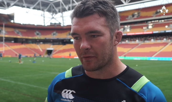 WATCH – Peter O'Mahony looking forward to first battle with The Wallabies
