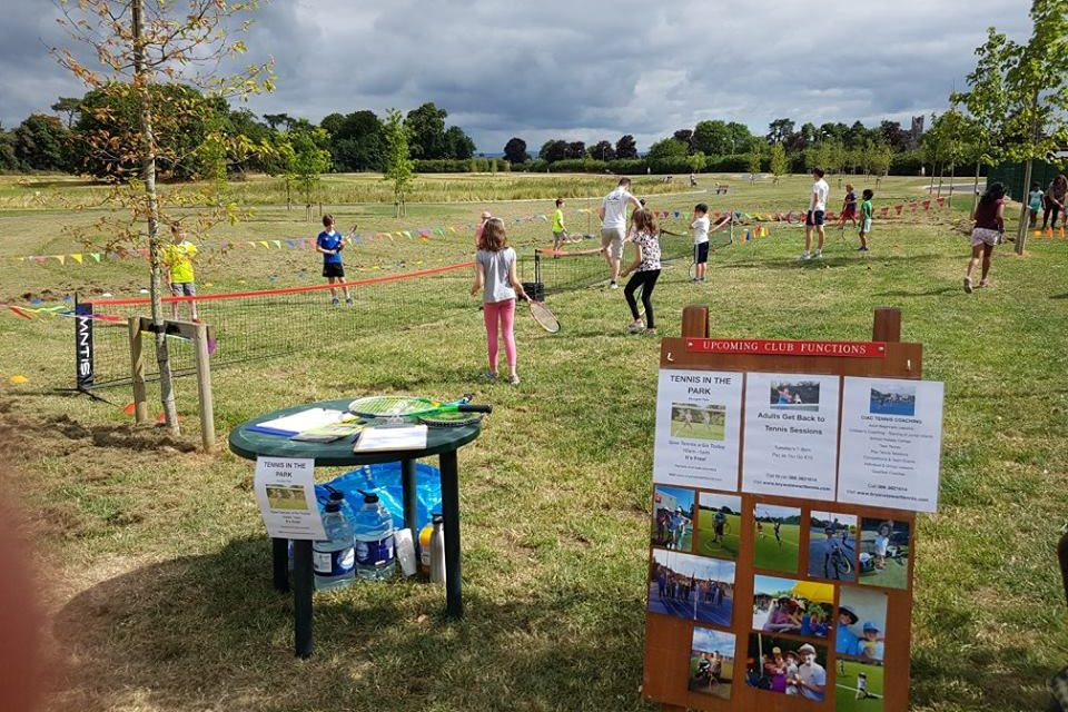 Tennis in the Park Creates a New Tennis Experience in Mungret