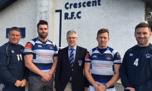 Old Crescent RFC unveil senior management line up for 2018-19 season