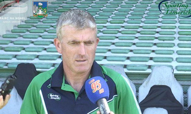 "WATCH: John Kiely says Limerick ""will give it 110% on Saturday night"""
