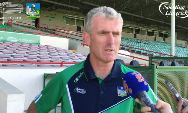 "WATCH: John Kiely ""We want to take another step in the championship on Sunday"""