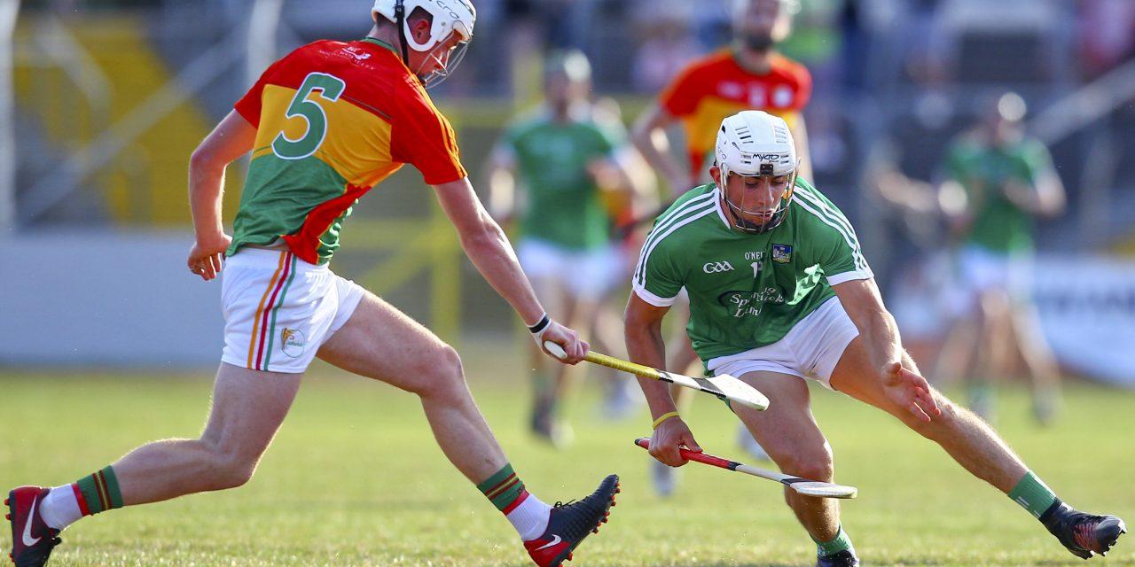 Two Limerick stars included in GAA hurling TOTW