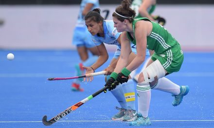 Roisin Upton and Irish Hockey side set for historic evening