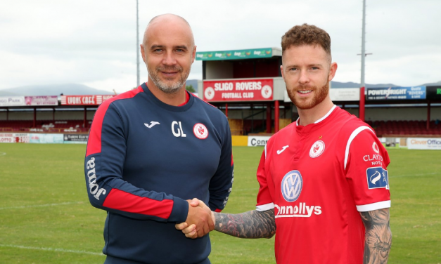 Lee J Lynch set for another stint with Sligo Rovers