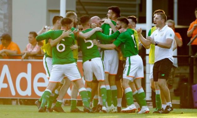 WATCH: Limerick's Aaron Tier's goal helps Ireland to European bronze