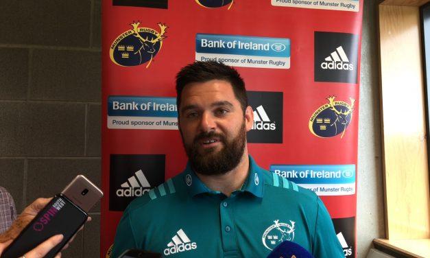 "WATCH: O'Byrne on ""refreshing"" Munster preseason"