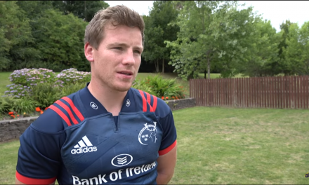 WATCH: Munster's Neil Cronin gives insight into life as a pro