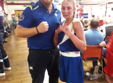Rathkeale Boxing Club's Breda Quilligan claims national title