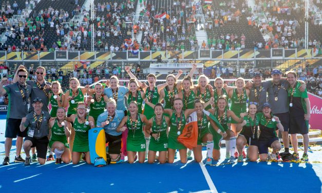 The Irish women's Hockey side and Limerick's Roisin Upton capture the heart of a nation