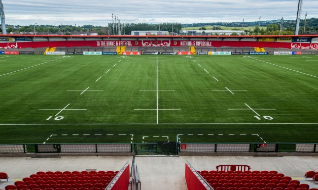 Ospreys visit marks official opening of 3G surface at Irish Independent Park
