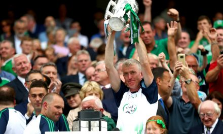 "WATCH: ""It's surreal""- John Kiely overawed by All Ireland success"